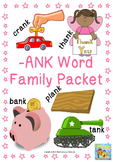 -ank Word Family Packet