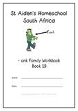 -ank Word Family Workbook