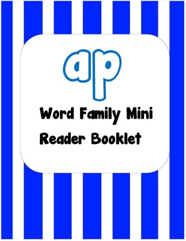 -ap Word Family Flip Book