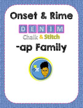 -ap Word Family (Onset & Rime)