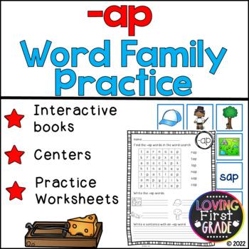-ap Word Family Pack