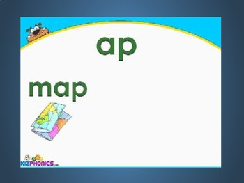 -ap Word Family Videos and Activities for the Elementary Classroom