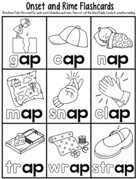 -ap Word Family Worksheets