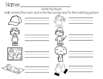 -ap Word Family Write the Room