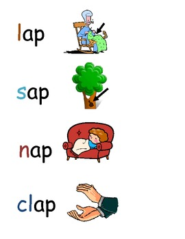 -ap word family poster