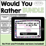 Would You Rather Articulation:Later Sounds NO PRINT&PRINT