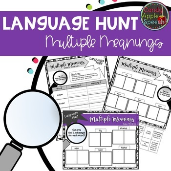 Language Hunt: Multiple Meaning Words