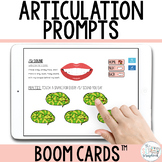 Articulation Prompts Boom Cards™ for Speech Therapy and Di