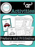 'ar' Activities - Printables and Posters