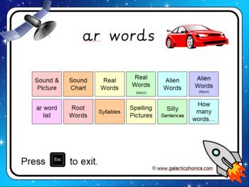 The 'ar' PowerPoint