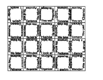 -ar (Present) Conjugation Puzzle