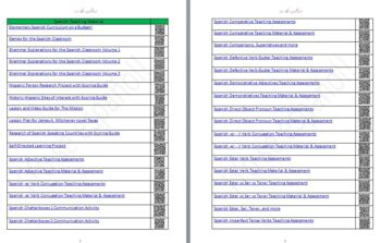 -ar Verb Conjugation Quizzes  Teaching Material
