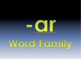 -ar Word Family Powerpoint