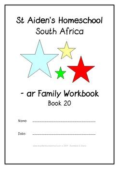 -ar Word Family Workbook
