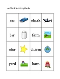 -ar Word Games - 3 Great Games for Reading Centers