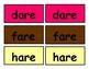 /ar/ (air) Match Literacy Center/Workstation Phonics Game