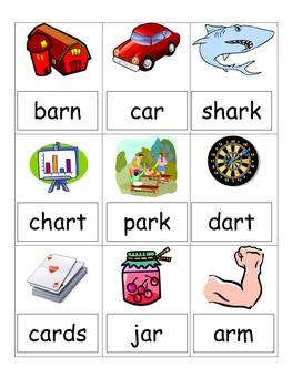 -ar word games