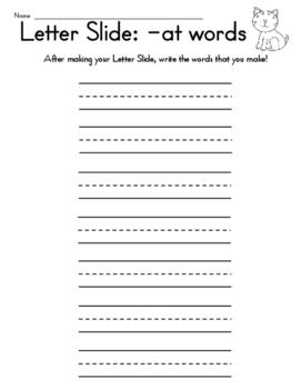 -at Family Letter Slide
