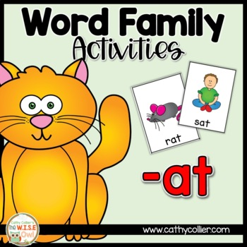 -at Word Family Activities