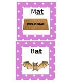 -at Word Family Flashcards