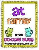 -at Word Family Mini Unit