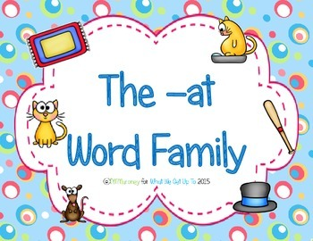 -at Word Family Resource Pack