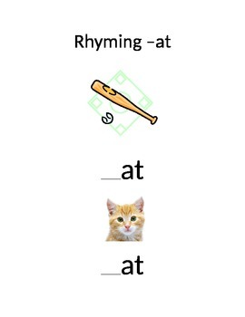 -at Word Family and Rhyming