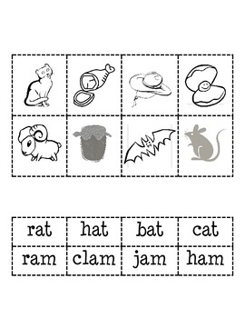 -at and -am Word Families