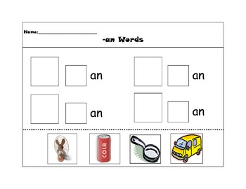 -at and -an word families