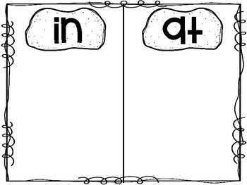 -at and -in word part sort