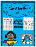 -at weekly word family