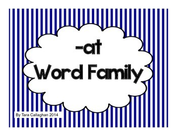 -at word family word wall