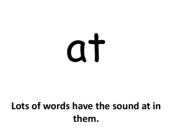 """""""at"""" words beginning reader"""