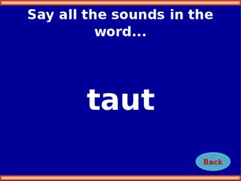 au Vowel Digraph Jeopardy!