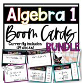 Algebra 1 BOOM™ Cards- Digital Task Card Bundle