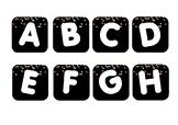 #ausbts17 Confetti Theme Word Wall