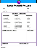 #aussiebts Guided Reading Record
