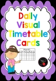 Daily Visual Schedule Cards #StartFreshBTS
