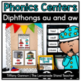 Diphthongs aw and au Word Work Activities
