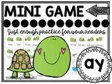 -ay vowel team phonics mini-game