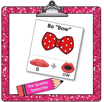 /b/ - CV words, articulation & phonological flashcards