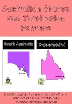 australian states territories posters australian states territories posters