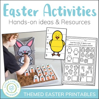 Easter Themed Numeracy Games - Elementary and QLD FONT