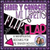 SABER Y CONOCER: Mi Librito FLIP FLAP * Interactive Study