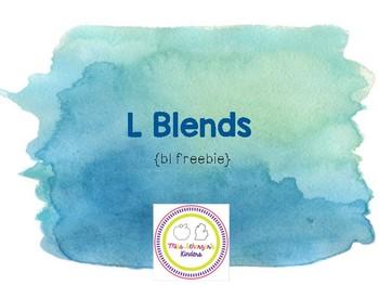 [bl Freebie!] Beginning Consonant Blend Interactive Presentations & Activities
