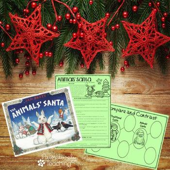 Animals' Santa Interactive Read Aloud