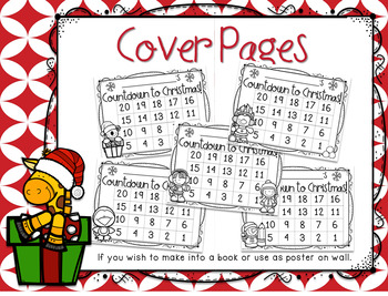 Christmas Math Activities - December Countdown