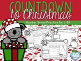 Christmas Math Activities - December Countdown
