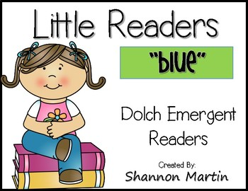 """blue"" Little Reader"