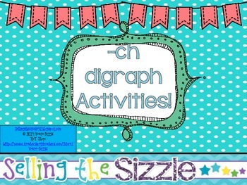 -ch Digraph Activities!